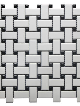 BAS2548P - White BASKET Weave Polished (MG670) -GL-1S-A2D(12*12)