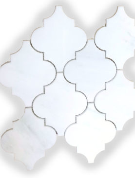 MG989 - Big Carrara White Lantern