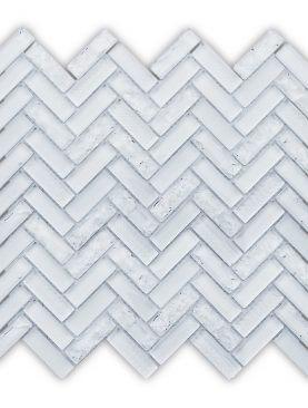 HLB001 - Sherlong White HERRINGBONE