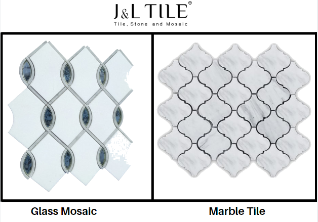 Glass Mosaic or Marble Tile Which is Ideal For Your Project?
