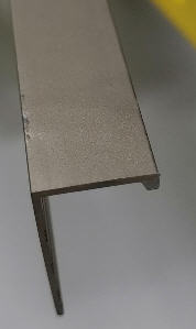 Trims 3/8 Titanium pol 8 Feet
